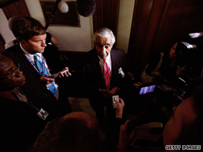 House Democratic leaders preached patience Monday in awaiting an ethics committee report on veteran Rep. Charles Rangel of New York.