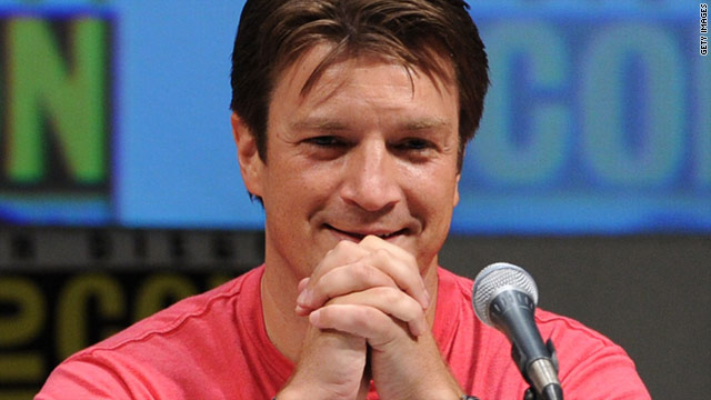 Nathan Fillion is right at home at Comic-Con