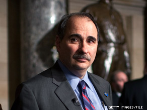 'We're not interested in re-litigating the past but we don't want to relive it either,' Senior White House adviser David Axelrod said after a meeting with Senate Democrats on Thursday.