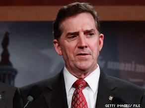  On Wednesday, South Carolina Republican Sen. Jim DeMint announced his endorsement for Washington Senate candidate.
