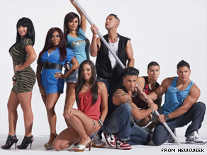 The cast of The Jersey Shore on Thursday scoffed at criticism leveled at them by New Jersey Gov. Chris Christie.