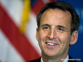 Tim Pawlenty issued an executive order Tuesday on the health care bill passed by Congress.