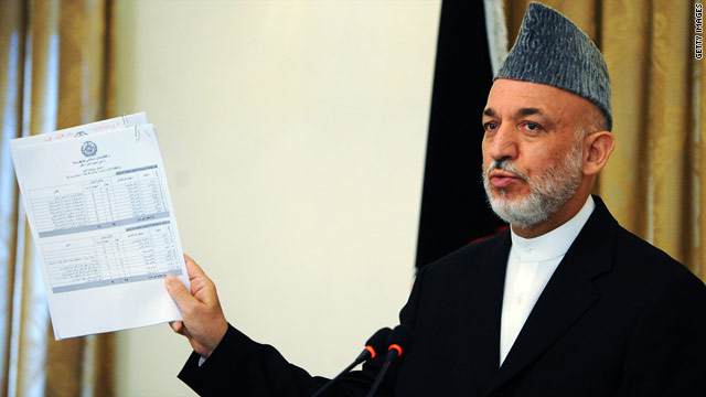 Karzai denounces leaking of Afghan informant names