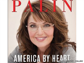 Sarah Palins new book will be released in November.