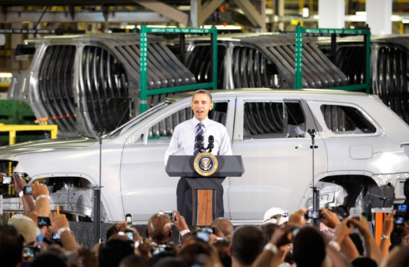 Did obama bail out chrysler