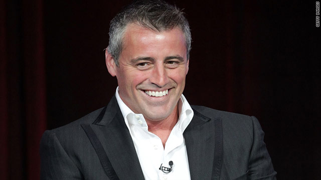 Matt LeBlanc was a bottle brunette