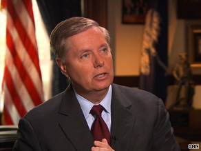About President Obama and Afghanistan, Sen. Graham told CNN, &#039;He&#039;s got a political problem. But we&#039;ve got a national security problem.&#039;