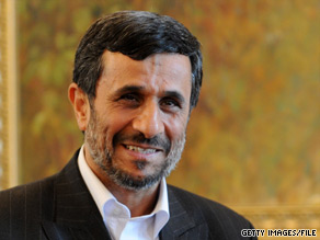 Iranian President Mahmoud Ahmadinejad said Monday he is willing to hold one-on-one talks with President Obama.