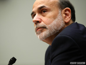 Federal Reserve chairman Ben Bernanke said Monday the U.S. economy has stabilized, but that complete economic recovery is a 'considerable' way off.