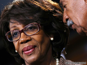 Rep. Maxine Waters, D-California, is under investigation by the House ethics committee.