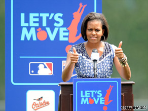 First lady Michelle Obama has made battling childhood obesity one of her top priorities.
