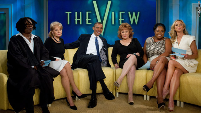 'The View' pulls Presidential ratings