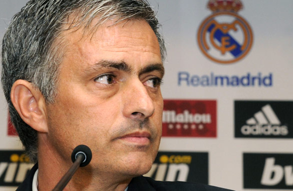 Jose Mourinho is unlikely to tolerate a repeat of Real Madrid&#039;s recent failures in the Champions League. (AFP/Getty Images)