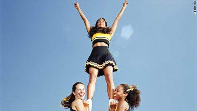 Cheerleading, not a sport, but produces injuries