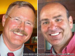  Republicans Clint Didier (left) and Paul Akers (right) are running for the same U.S. Senate seat, but have released a joint radio ad attacking their opponents.