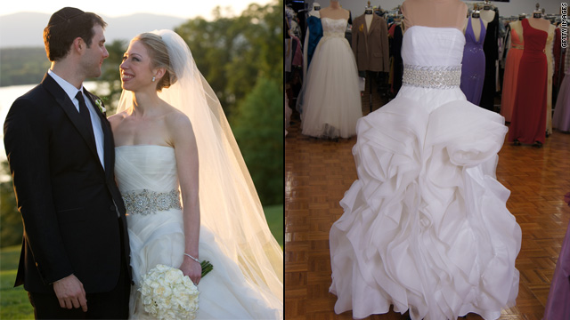 Want to wear Chelsea Clinton's wedding dress?