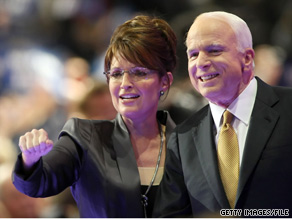 Palin campaigned with John McCain in March, one of the three statewide candidates she backed ahead of Tuesday who went on to win their race.