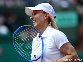 Martina Navratilova is your Connector of the Day.