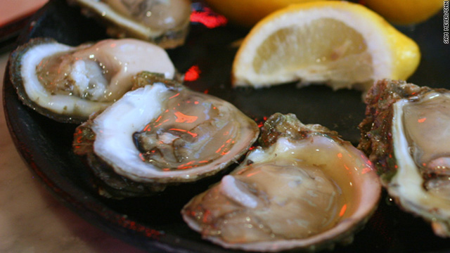 Lick the screen – oysters in New Orleans
