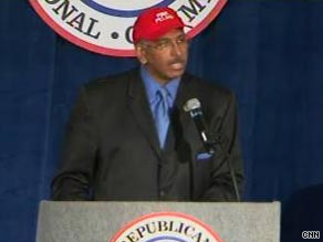 RNC chairman Michael Steele told party activists Friday that he has re-shaped the committee into a successful grassroots organization.