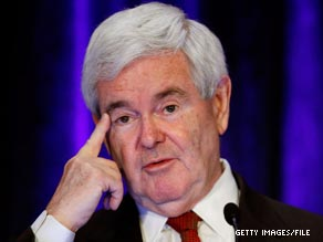 Former Republican House Speaker Newt Gingrich's ex-wife says 'there's now way' he will be president.