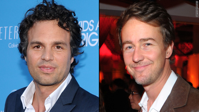 Ed Norton and Mark Ruffalo still 'cool'