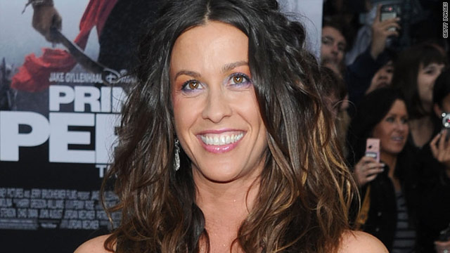 Alanis Morissette is pregnant