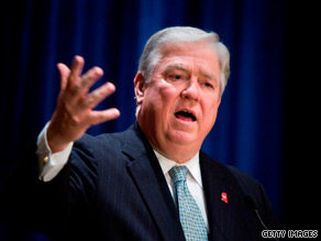 Mississippi Gov. Haley Barbour says he won't decide about a presidential run until after the midterm elections.