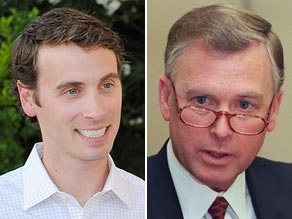 Ben Quayle, (left) son of former Vice President Dan Quayle, said Obama is the &#039;worst president in history.&#039;