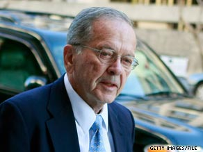 Former Sen. Ted Stevens died Tuesday in a plane crash.'