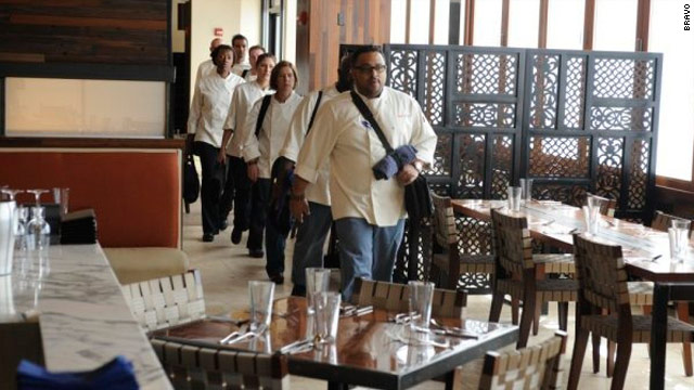 'Top Chef' goes to battle