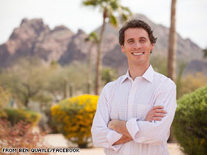 Arizona congressional candidate Ben Quayle on Monday released a list of nine reasons why he says President Obama is the &#039;worst president in history.&#039;
