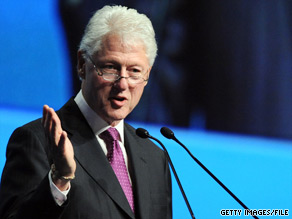  Former President Bill Clinton hits the campaign trail Monday for Rep. Kendrick Meek who is running for Florida&#039;s Democratic Senate nomination.