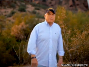 Sen. John McCain's campaign has released a new, more positive ad.