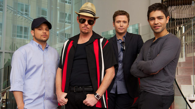 Tequila is the 'Entourage's' drink of choice
