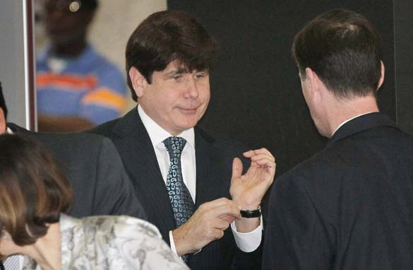 rod blagojevich toupee. Rod Blagojevich arrives at