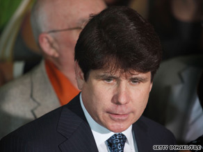 Former Illinois Gov. Rod Blagojevich is not ruling out a political comeback.