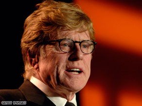 Robert Redford has penned a letter on behalf of Barbara Boxer.