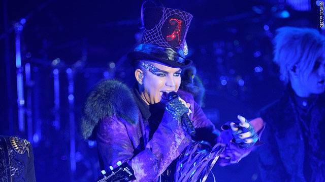 Adam Lambert: 'TongueDiving is the new StageDiving'