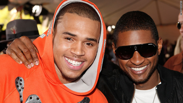 No plans 'at this time' for Chris Brown and Usher tour