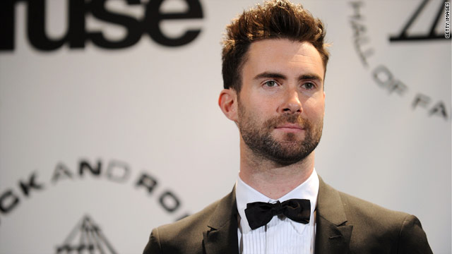 adam levine gay. Adam Levine launches