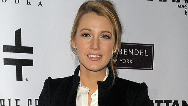 Blake Lively: Actually? I'm really shy