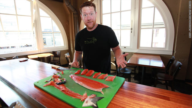 5@5 - Fishmonger-turned-restaurateur Dan Bugge