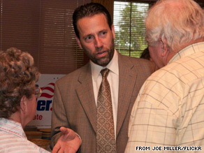 Alaska Senate candidate Joe Miller said Sunday he thinks Alaska should take less money from Washington in exchange for land from the federal government.