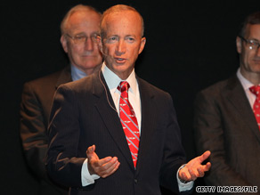 Indiana Gov. Mitch Daniels on Wednesday suggested that Sarah Palins political reach is limited.
