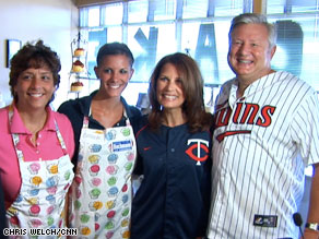 Michele Bachmann kicked off a bus tour on Wednesday.