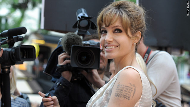 Angelina Jolie ready for the director's chair