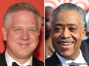 Glenn Beck and Al Sharpton are both holding rallies in Washington, DC on Saturday.