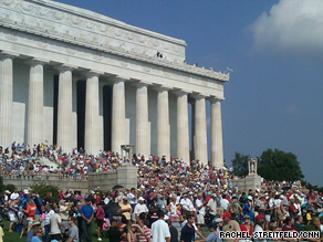 Glenn Beck's 'Restoring Honor' rally in Washington, DC is underway.
