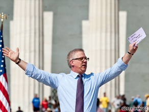 Conservative commentator Glenn Beck said Sunday that his revival-style rally yesterday at the Lincoln Memorial was meant to reclaim the U.S. civil rights movement 'from politics.'